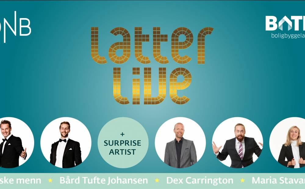 DNB og Bate presenterer Latter live
